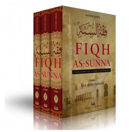 Fiqh As-Sunna (L'intelligence de la norme prophétique ), de Sayyid Sabiq, 3 tomes