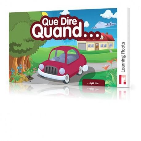 Que Dire Quand - Jeux éducatifs - collection Learning Roots
