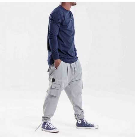 Pantalon Battle NAVY usual fit