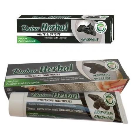 Dentifrice blanchissant au charbon végétal (100 ml)