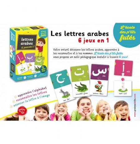 Lettres arabes - 6 jeux en 1  - Jeu de société - dès 3 ans