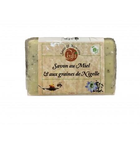 SAVON AU MIEL & AUX GRAINES DE NIGELLE - CHIFA