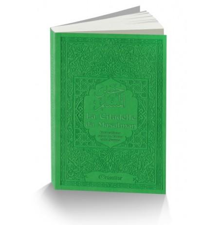 La Citadelle du Musulman - Français / Arabe / phonetique )  Couleur vert clair