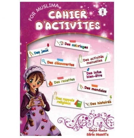 CAHIER D'ACTIVITÉ - DÈS 8 ANS - FILLE
