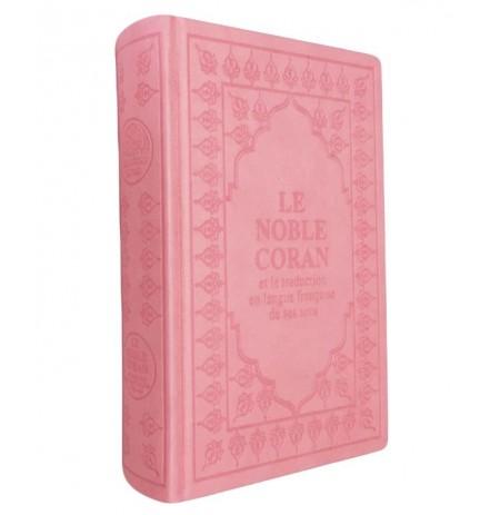 Coran Arabe / Français - Couverture Rose
