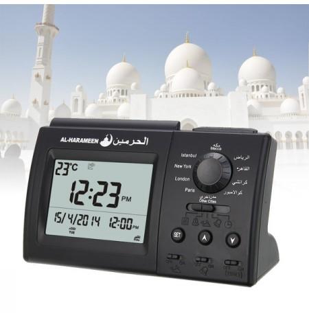 Réveil Al Fajr avec appel à la prière