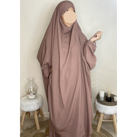 JILBEB 2 PIECES JUPE - ROSE PALE