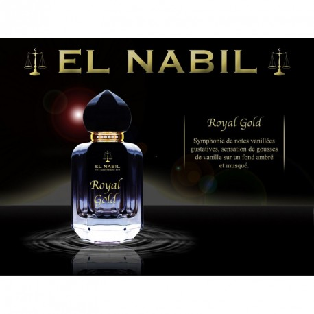 Eau de Parfum Spray El Nabil - ROYAL GOLD - 50 ml